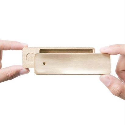 [IKI]収納付きインセンスホルダー | 箱 真鍮