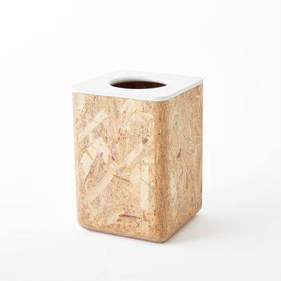 [chii]木片が集まってできた清潔感あるゴミ箱