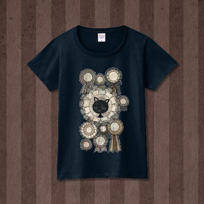 Tシャツ『さよならオンディーヌ』杢ネイビー