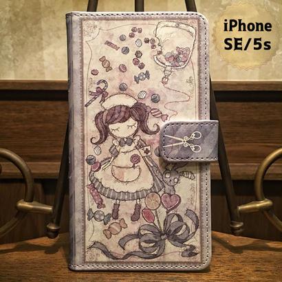 iPhone SE/5S『致死量のキャンディー』手帳型ケース