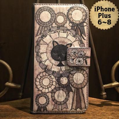 iPhone plus 6~8『さよならオンディーヌ』手帳型ケース