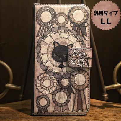 スマホLLサイズ『さよならオンディーヌ』手帳型ケース