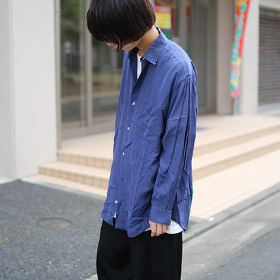 Y's for men stripe rayon shirts