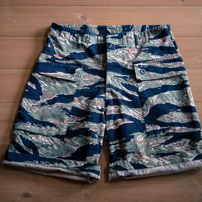 Crawling Shorts Twill Tiger Stripe