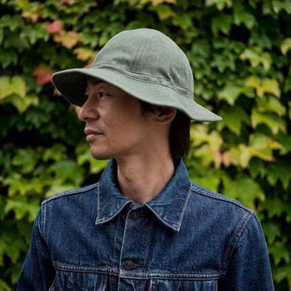 TCB 30's HAT Green Denim