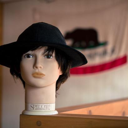 TCB 30's HAT BLACK YORIMOKU TWILL