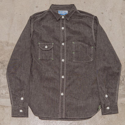 Catlight Shirts  Covert  Black Chambray   5.2oz