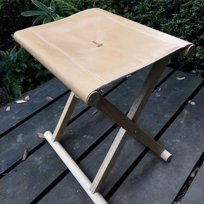 TADPOLExWASHIMORI  STOOL leather