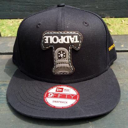 TADPOLExNEW ERA  SNAPBACK CAP BLACK