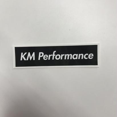 KM Performance BOX Sticker Black [kmstbk]