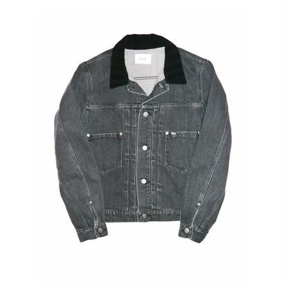 Denim Jacket. -Washed-