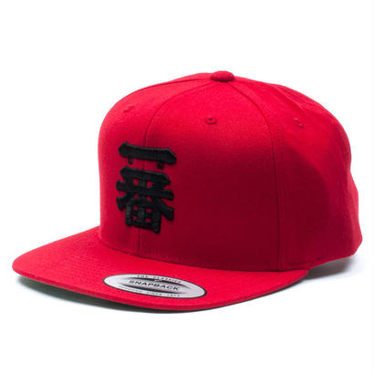 "一番 SNAPBACK CAP ""Red"""