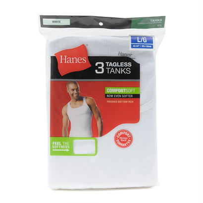 Hanes 3Pack TAGLESS TANKS