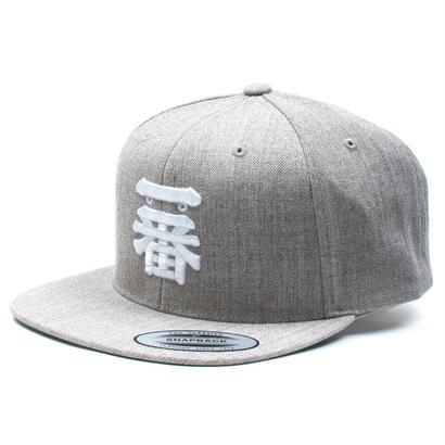"一番 SNAPBACK CAP ""Gray"""