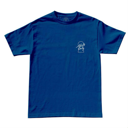 ADULTS ONLY TEE - COOL BLUE