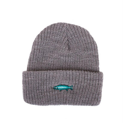 SMOKING FISH BEANIE - GREY