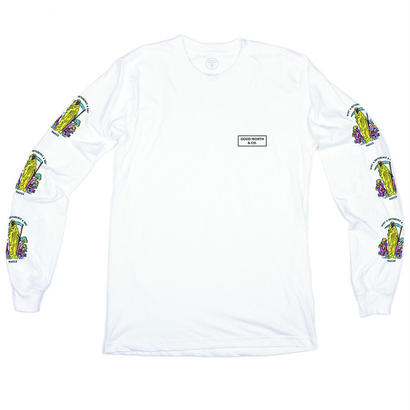 DIFFERENCE LONG SLEEVE - WHITE