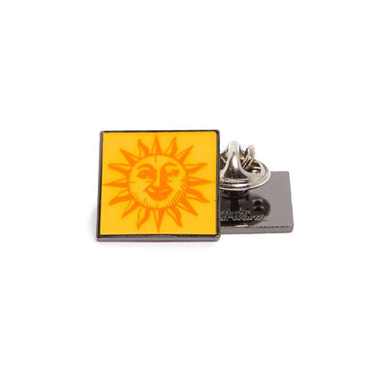 ORANGE SUNSHINE PIN