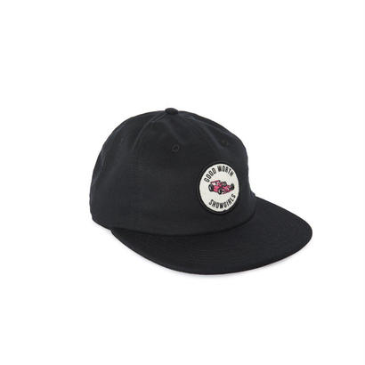 GRAND PRIX 6 PANEL STRAPBACK - BLACK
