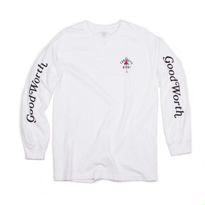 TONIGHT'S THE NIGHT LONG SLEEVE - WHITE