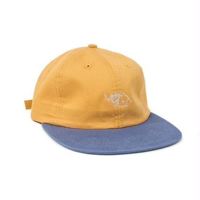 LIT SNAPBACK - SQUASH AND SLATE BLUE
