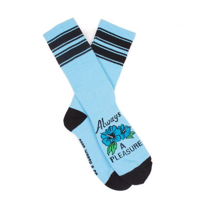 ALWAYS A PLEASURE SOCKS - BLUE