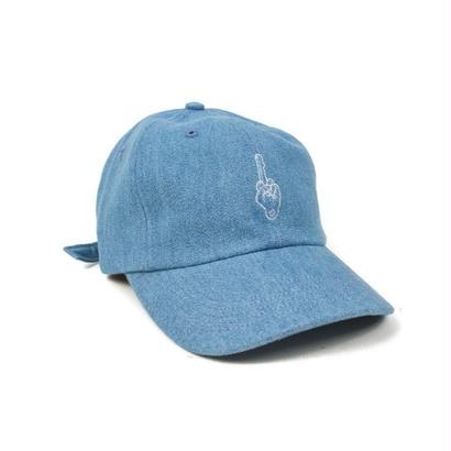 BEST WISHES KEY STRAPBACK - DENIM