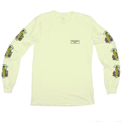 DIFFERENCE LONG SLEEVE - BANANA