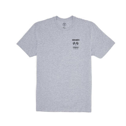 GRAND PRIX TEE - HEATHER