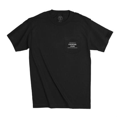 UNDERPAID POCKET TEE - BLACK