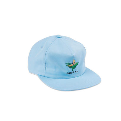 FUCK IT ALL SNAPBACK - LIGHT BLUE