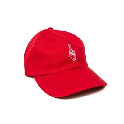 BEST WISHES KEY STRAPBACK - RED