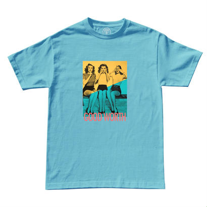 HEAR NO EVIL TEE - BLUE