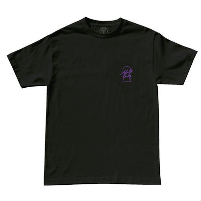 ADULTS ONLY TEE - BLACK