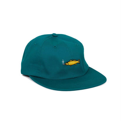 SMOKING FISH STRAPBACK - GREEN