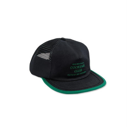 UNDERPAID SNAPBACK - BLACK/EMERALD