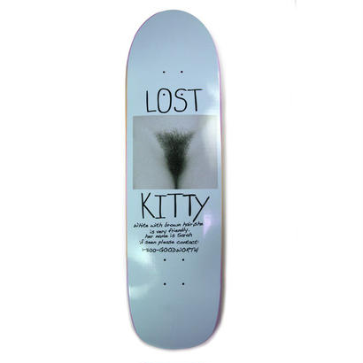 LOST KITTY SKATEBOARD - BLUE