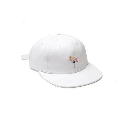 GOOD WORTH X KOVSKA MARTINI GIRL HAT - WHITE