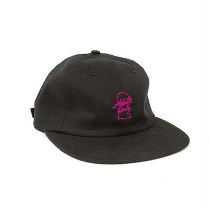 ADULTS ONLY STRAPBACK -BLACK