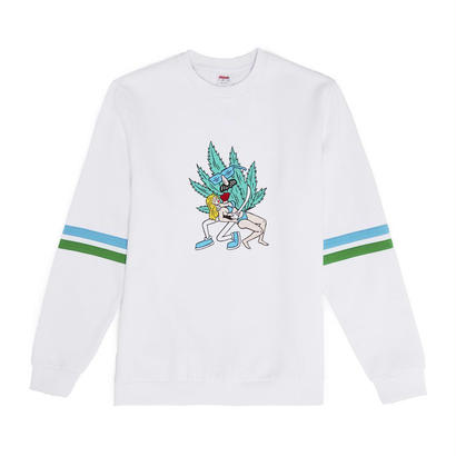 HOLD ME CREWNECK - WHITE