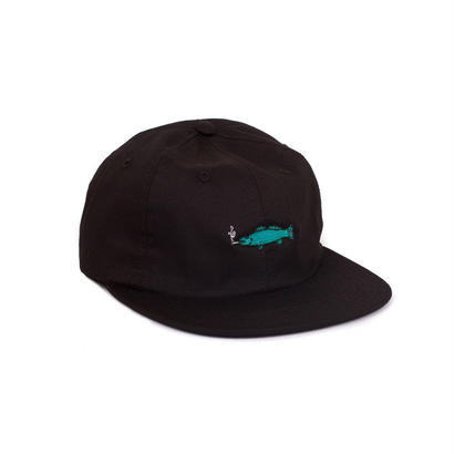 SMOKING FISH STRAPBACK - BLACK