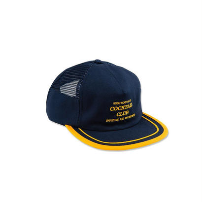 UNDERPAID SNAPBACK - NAVY/GOLD