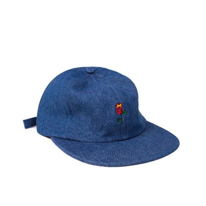 ROSE STRAPBACK -DENIM