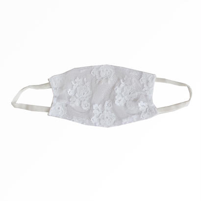 Love lacy Mask-White