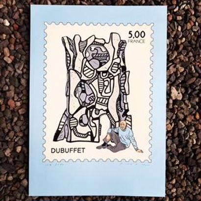 "Floc'h:""Dubuffe"" Portfolio 35 rue Victor Masse"