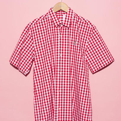 【THE CHUMS OF CHANCE】GINGHAM S/S SHIRT②