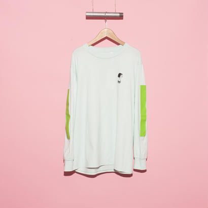 【THE CHUMS OF CHANCE】SLEEVE PRINT L/S②