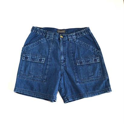 Craft & Barrow / Denim Bush Shorts(クラフトアンドバロー / ショーツ)msh-0001