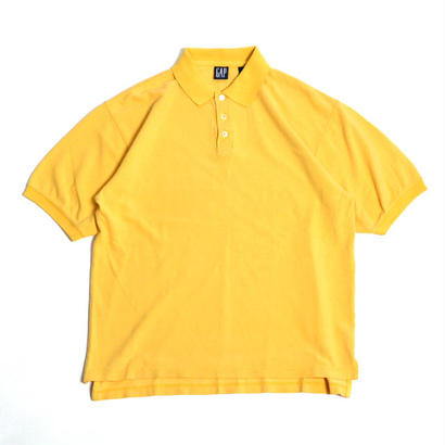 1990s GAP / S/S Polo Shirts(ギャップ / ポロシャツ)ms-0013