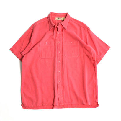 "1990s L.L.Bean / ""Cool Wave"" Short Sleeve Shirts(エルエルビーン / S/Sシャツ)ms-0011"